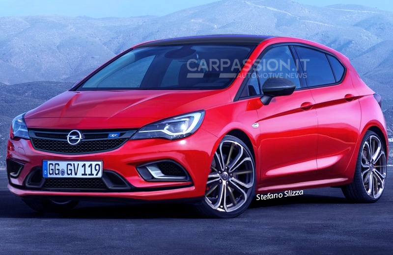 Yeni Opel Astra OPC 2016 Resimleri