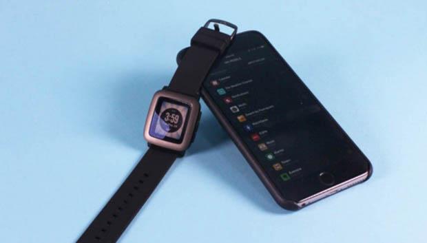 iOS İçin Pebble Time Uygulaması Çıktı