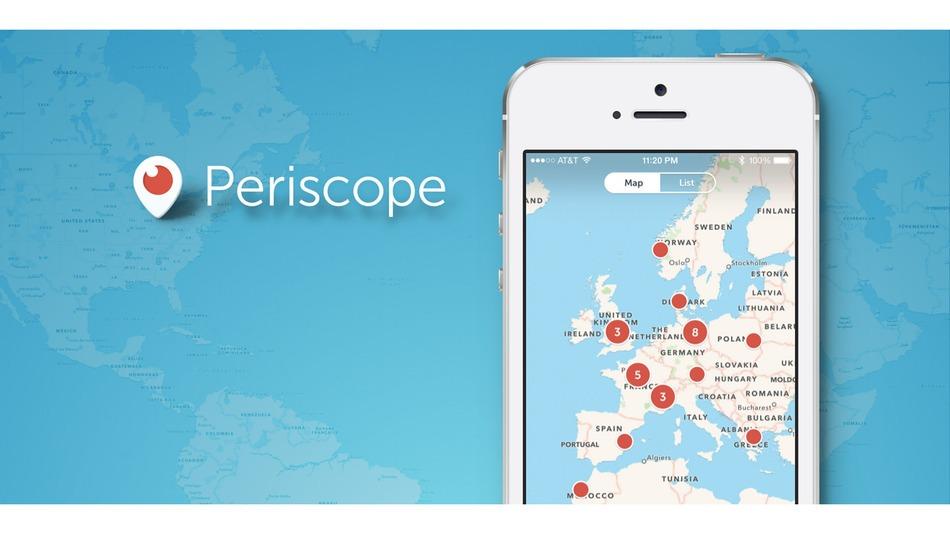 Periscope Harita Özelliği Eklendi !