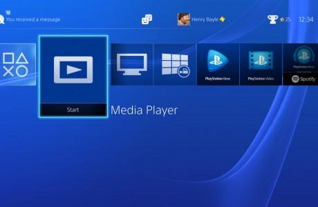 PlayStation 4 Medya Player Özelliği Geliyor!