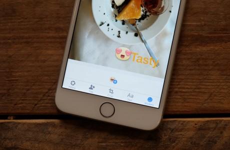 Facebook iOS Resim Yükleme Uygulamasındaki Yenilikler Snapchat'ten Esinlenmiş !