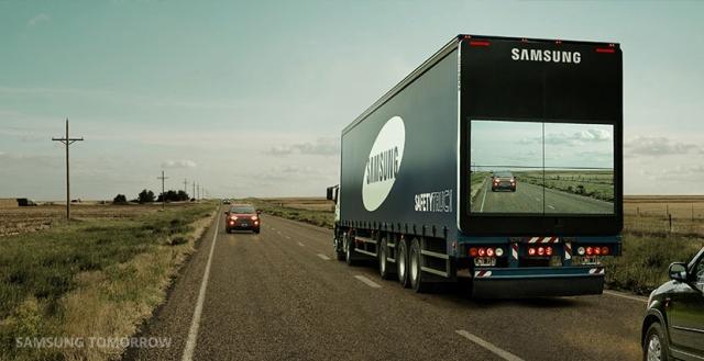 Samsung Safety Track, Kamyon Sollamak Hiç Bu Kadar Kolay Olmamıştı