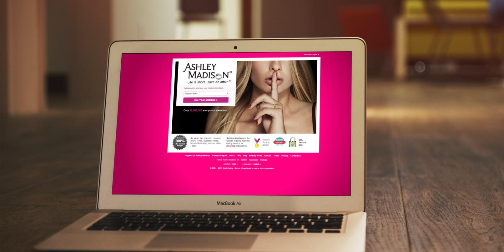 Yasak ilişki Sitesi Ashley Madison Hacklendi!