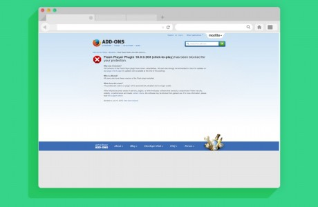 Mozilla Adobe Flash'ı Devre Dışı Bıraktı