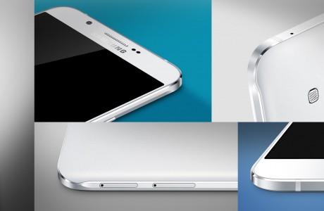 Samsung'un En ince Telefonu Galaxy A8