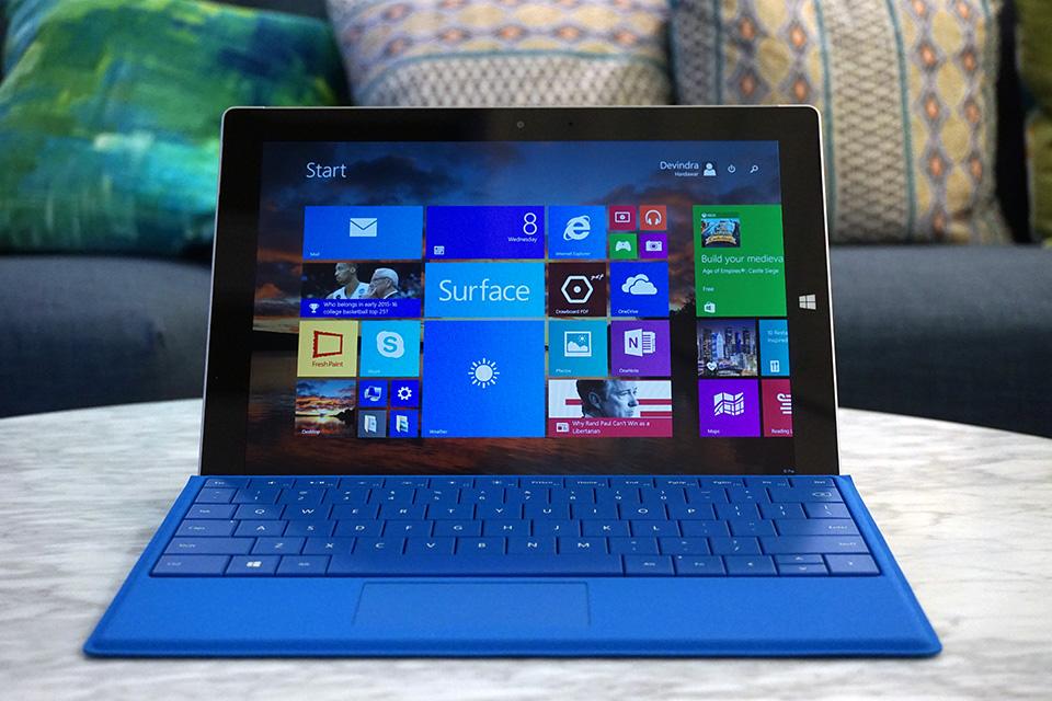 Surface 3 Tablet ABD'de AT&T ile 24 Temmuz'da Satışa Çıkıyor