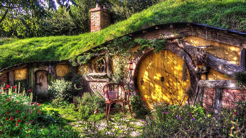 Hobbit Ev'de Yaşamak ister misiniz?