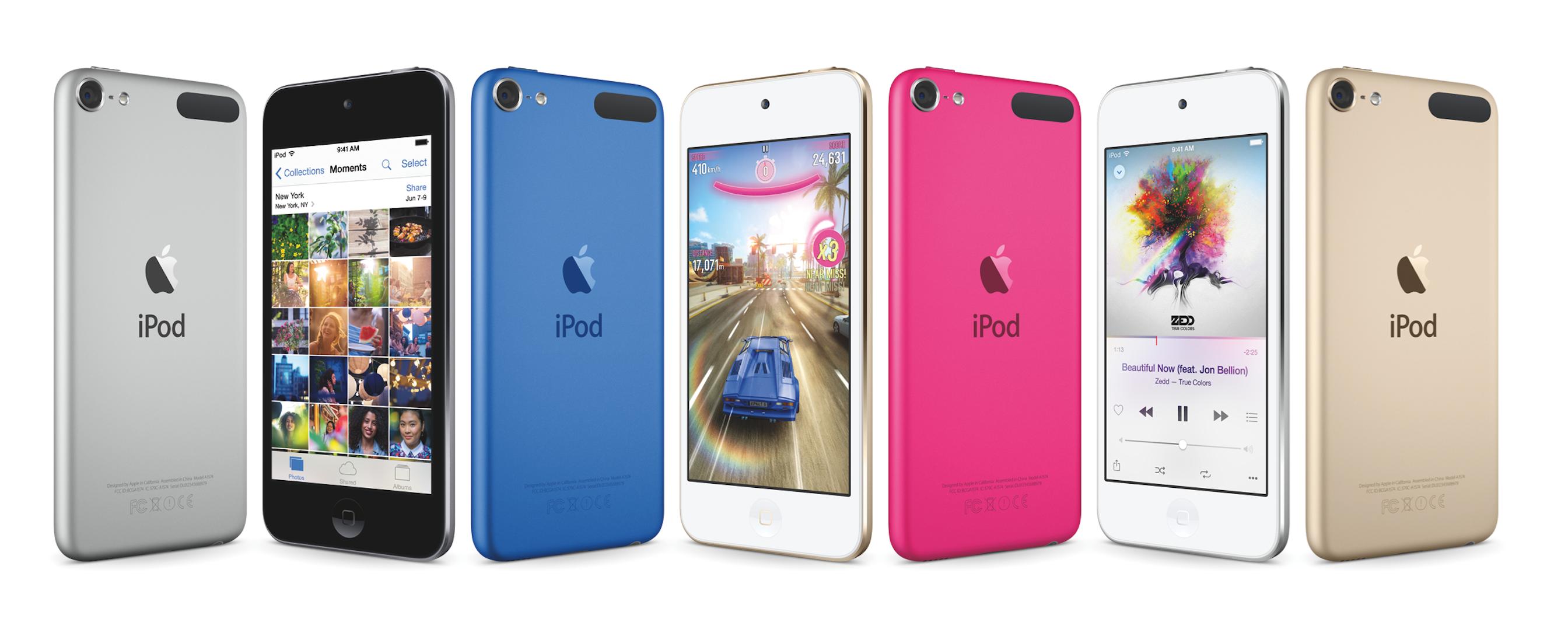 Apple'dan Yeni iPod Touch, iPod Shuffle ve iPod Nano ! Yeni Renkleri ile Karşınızda!