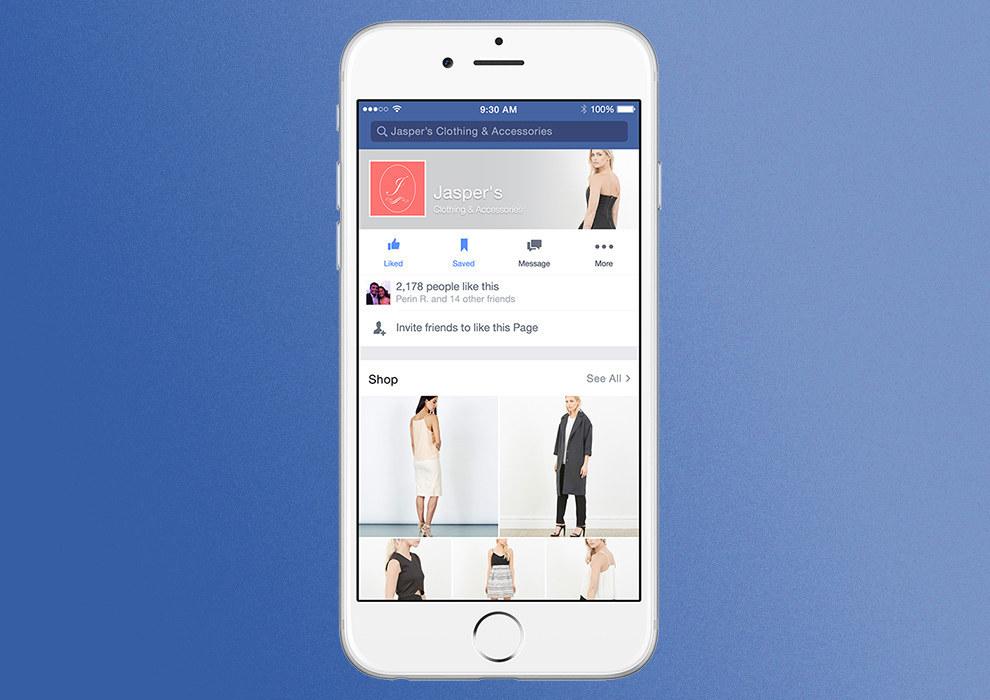 Facebook Dijital Mağaza Test Edilmeye Başlandı!