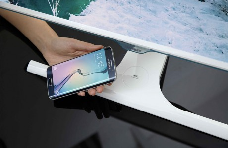 Samsung Monitörlere Kablosuz Şarj Özelliği
