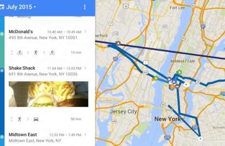 Google Maps Konum Geçmişi Özelliği Geldi