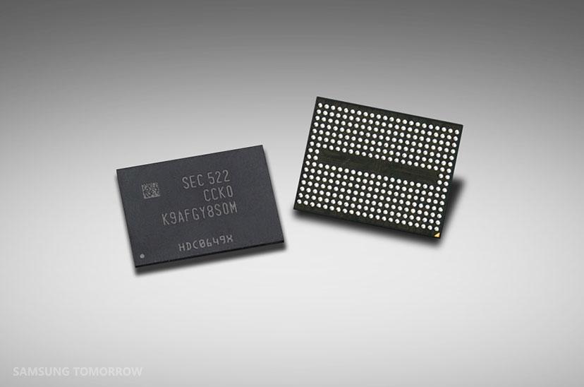 Samsung Yeni 256GB 3D V-NAND Flash Duyurdu
