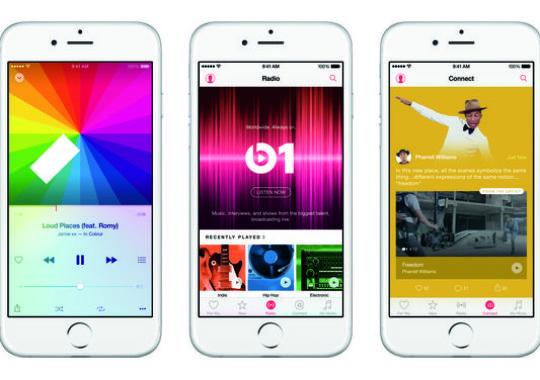 Apple Müzik 11 Milyon Kullanıcı Sadece ilk 5 Haftada!
