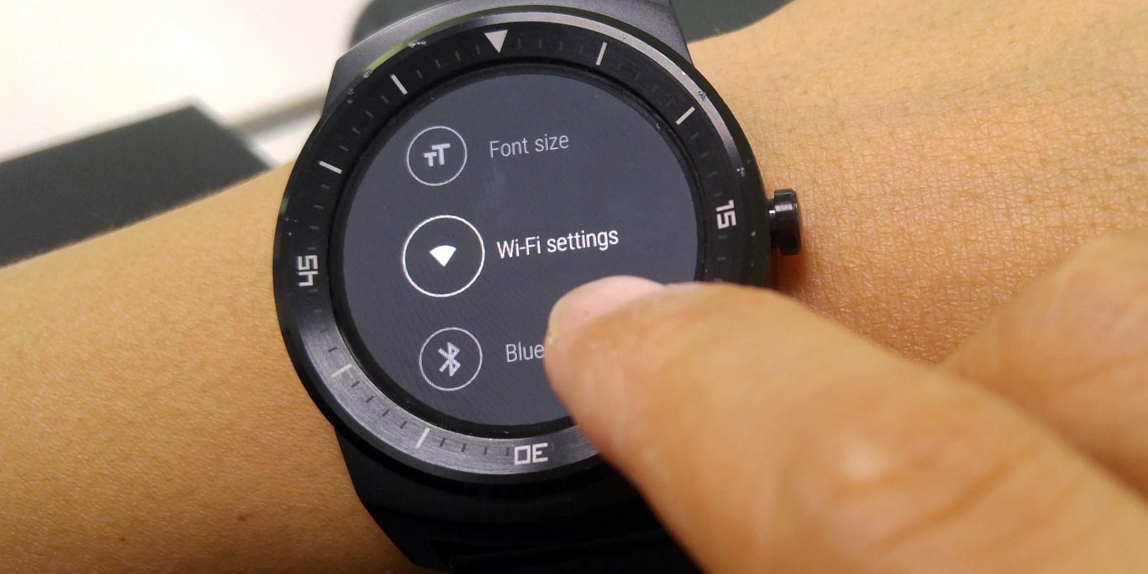 LG G Watch R Wi-Fi Desteği Geliyor