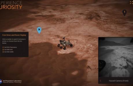 Mars Yüzeyinde Gezintiye Çıkmak İster misiniz?