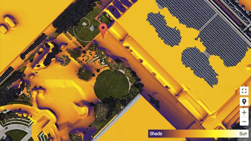 Project Sunroof: Google Güneş Enerjisi Haritası Oluşturuyor