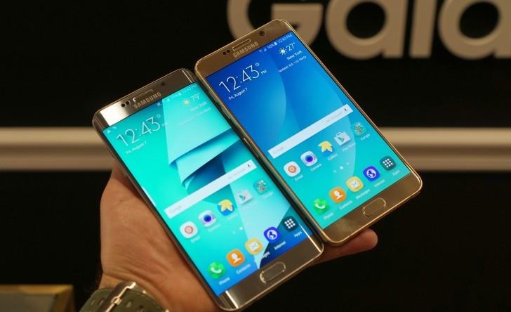 Beklenen Galaxy Note 5 ve Galaxy S6 Edge+ Resmen Tanıtıldı