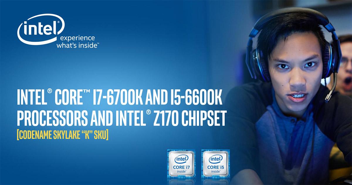 Intel Oyun Severler için 6. Nesil Skylake İşlemci Duyurdu!