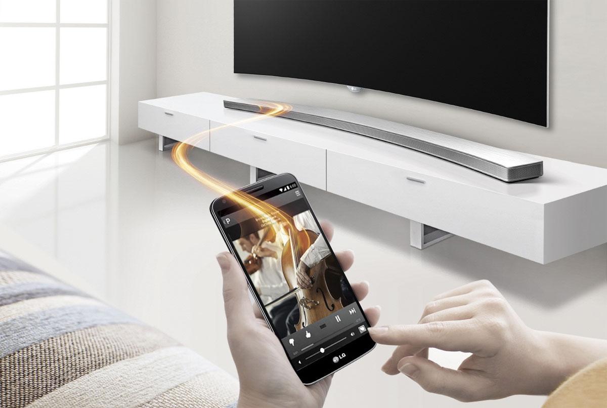 Kavisli TV ve Telefondan Sonra LG Kavisli SoundBar Duyurdu