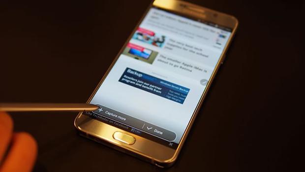 Samsung Galaxy Note 5 En İyi Ekrana Sahip