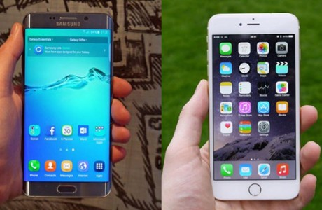 iPhone 6 Plus vs Galaxy S6 Edge+ !