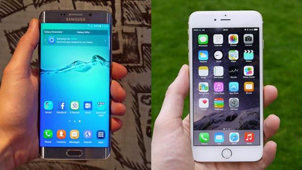 iPhone 6 Plus vs Galaxy S6 Edge+ !
