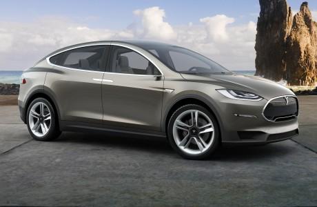 Elektrikli Tesla Model X SUV Üretime Başlıyor