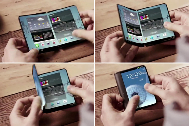 Samsung 'un Katlanabilir Akıllı Telefon Patenti!