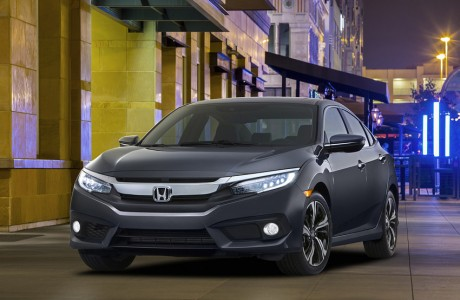 2016 Honda Civic Şimdi Apple CarPlay ve Turbo'lu