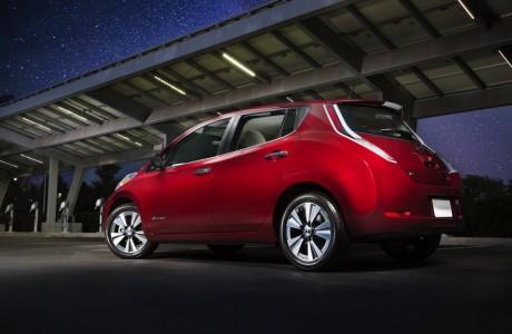 2016 Nissan Leaf Tek Şarj ile 107 Mil