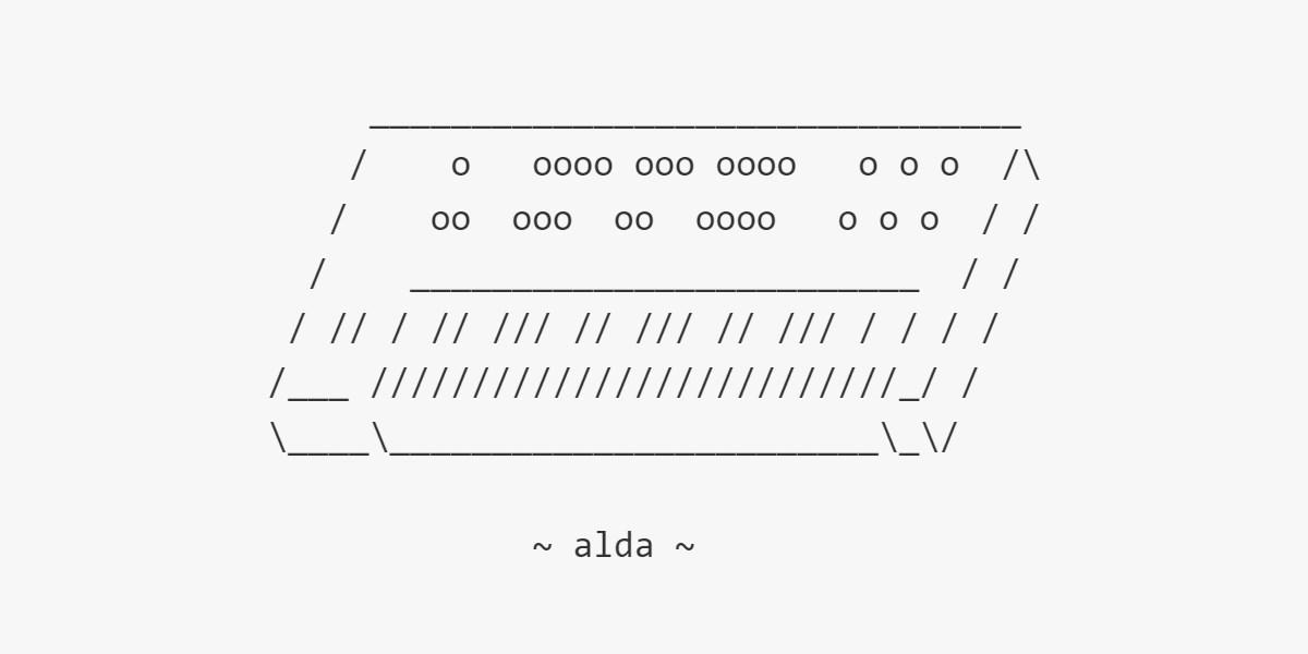Alda Programlama Dili : Metin Editöründen Beste Yapabilirsiniz