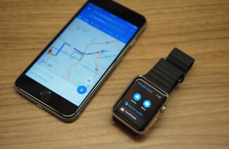 Google Maps Artık Apple Watch'ta Çalışıyor