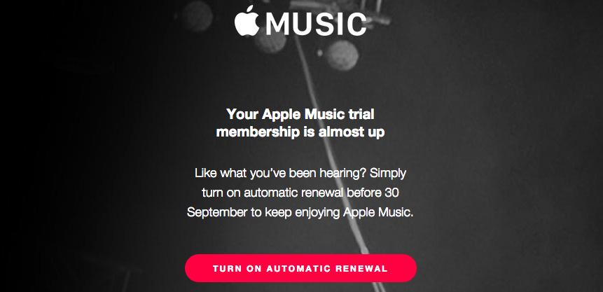 Apple Müzik Kullanıcıları Dikkat! İlk Ücretsiz Dönem Bitiyor!