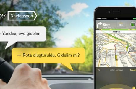 Yandex Navigasyon Artık Sesli Komut Özelliğini Destekliyor.