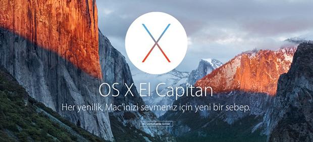 OS X El Capitan Bugün Akşam Saatlerinde Ücretsiz Olarak İndirilebilir!
