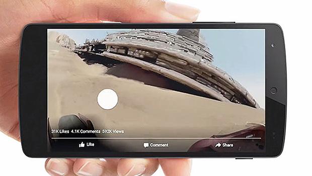 Facebook 360 Derece İnteraktif Video Desteği Sunmaya Başladı!