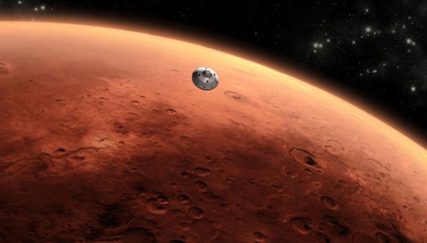 Google'dan Mars Doodle'ı!