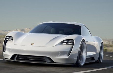 Porsche Mission E Concept Tesla Model S'e Rakip