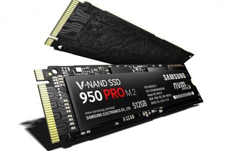 Samsung SSD 950 Pro: Süper Hızlı SSD Bellekler Satışa Çıkıyor