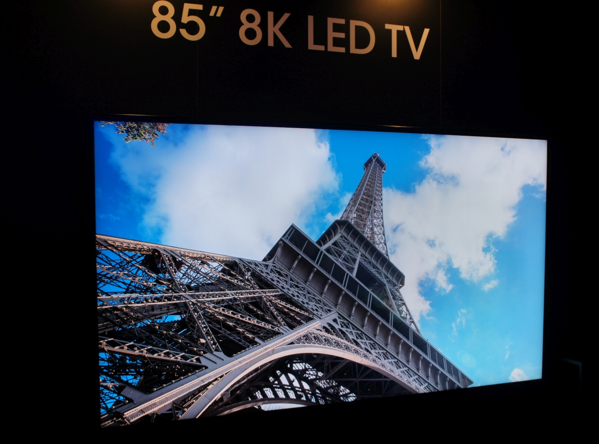 Sharp 85-inç 8K LED TV Satışa Çıkıyor Ama Fiyatı Fena!