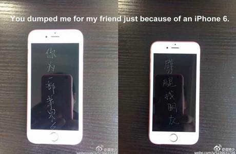 Sevgilinin iPhone 6 'lı İntikamı!