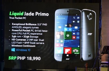 Acer Jade Primo'yu Tanıttı!