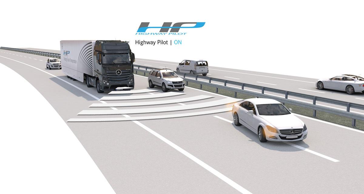 Mercedes Actros Autonomous Truck: 8. Otobanda Teste Çıktı!