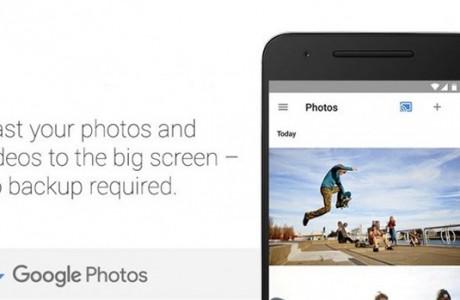 Google Fotoğraflar Chromecast Desteği Aldı!