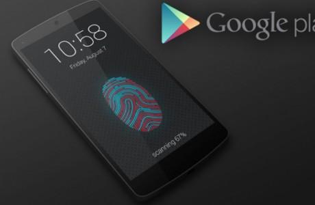 Google Play, Parmak İzi Desteği Verecek!