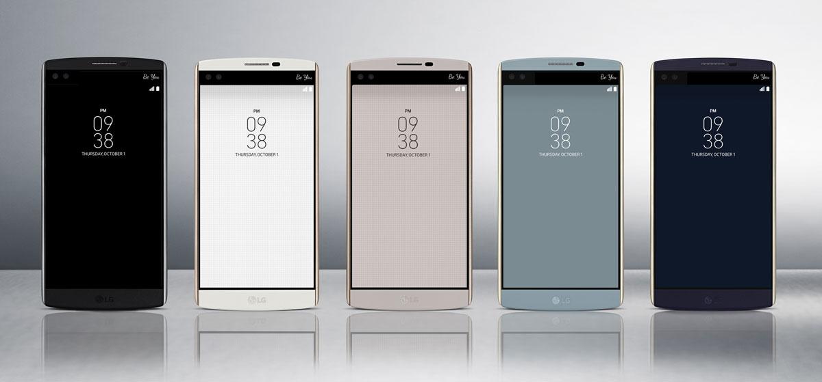 Dual Camera ve Dual Selfi işte Yeni LG V10