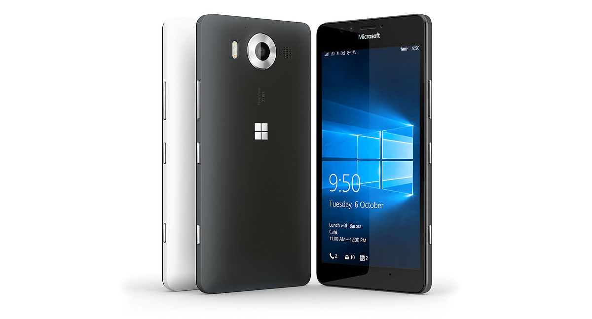 Lumia 950 : iPhone 6s ve Nexus 5X Karşılaştırma