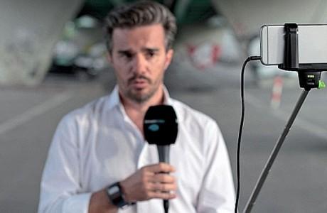 İsviçreli Televizyon Kanalı Kameralarını iPhone 6 ile Değiştirdi
