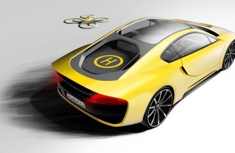 Rinspeed Sürücüsüz Spor Otomobil Konsept