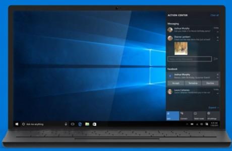 Windows 10'dan Mesaj Süprizi!